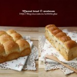 培根小吐司和榛子小餐包(早餐菜谱)