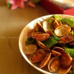 酱炒花甲(海鲜菜谱)