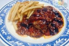 烤番茄里脊肉