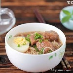 卤牛肉面(晚餐菜谱)