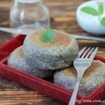 平底锅黑芝麻核桃面饼(早餐菜谱)