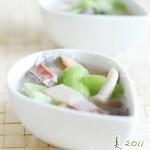 火腿丝瓜豆腐汤(夏日消暑汤菜谱)
