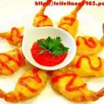 炸虾(海鲜菜谱)