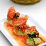 茄汁菜包(夏日菜谱)