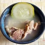 節瓜煲龍骨湯(營養靚湯菜譜)