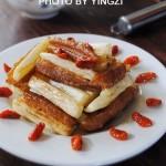 茭白炒油条(素菜菜谱)