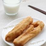 自制健康油条(早餐菜谱)