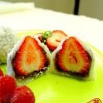 微波爐草莓大福(微波爐菜譜)