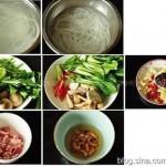 酸辣米线(早餐菜谱)