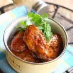 蒜蓉蜜汁烤翅(烤箱菜谱)