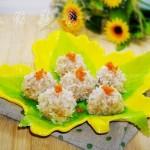 珍珠丸子庆团圆(中秋节菜谱)