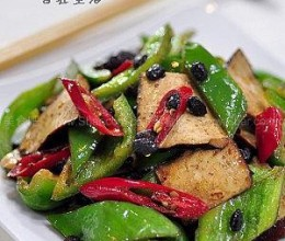 豉椒豆腐干