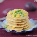 玉米煎饼(早餐菜谱)