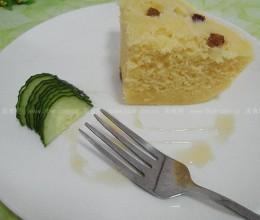 蜂蜜鸡蛋玉米面发糕