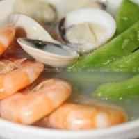 涼瓜海鮮湯