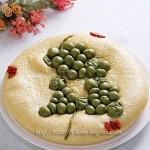 玉米葡萄花糕(早餐菜谱)
