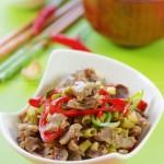 酸豆角炒鸡胗(超级开胃下饭菜菜谱)