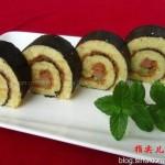蛋糕寿司(早餐菜谱)
