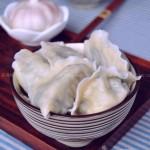 韭菜扇贝水饺(早餐菜谱)