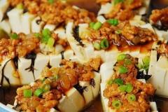 榄菜蒸豆腐