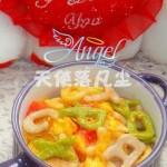 彩色字母面(早餐菜谱)