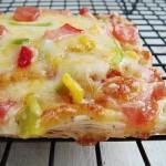 自制蛋黄起酥披萨(15分钟早餐菜谱)