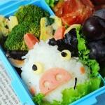 奶牛便当(爱心盒饭菜谱)