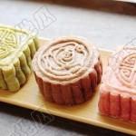 韩国多彩月饼(中秋菜谱)