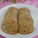 蜜汁糯米藕(凉菜菜谱)