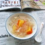 木瓜银耳糖水(秋天防秋燥菜谱)