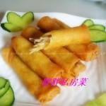 春卷(荤素搭配菜谱)