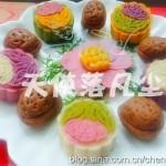 紫薯冰皮月饼(中秋菜谱-合家团圆)