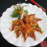 燒烤大蝦(海鮮菜譜)