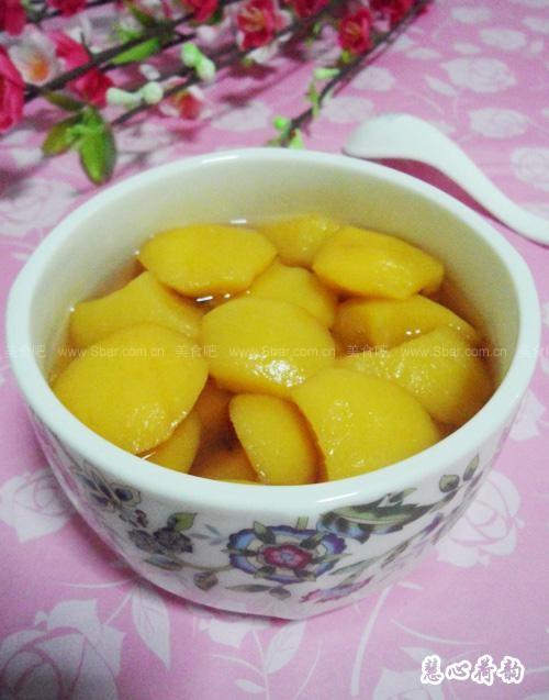 自制黃桃罐頭