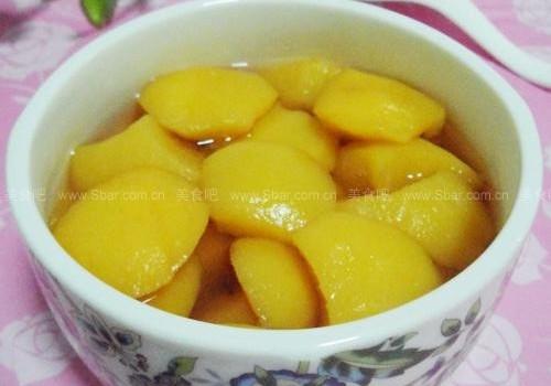 自制黃桃罐頭(家庭自制水果罐頭菜譜)