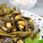 炒薄壳(海鲜菜谱)