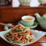 榨菜拌月饼(中秋家宴菜谱)