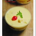 芒果芝士布丁杯(甜品菜谱)