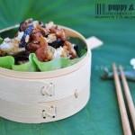 荷叶糯米鸡(清蒸菜菜谱)
