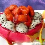 糖醋樱桃肉(荤菜菜谱)