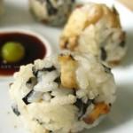 蘑菇饭团(早餐菜谱)