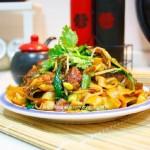 家常香肠豆瓣炒面(早餐菜谱)