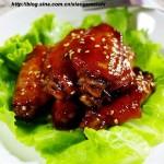 红烧鸡翅中(荤菜菜谱)