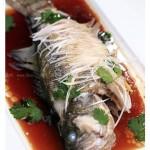 清蒸鲈鱼(15分钟清蒸菜菜谱)