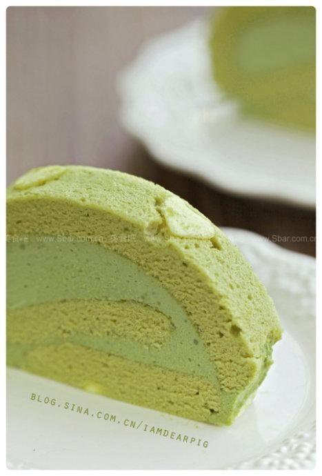 抹茶彩绘蛋糕卷的做法 抹茶彩绘蛋糕卷的家常做法 抹茶彩绘蛋糕卷怎