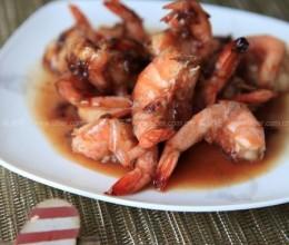 玫瑰凤尾虾