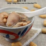 猪尾骨花生汤(荤菜菜谱)