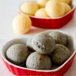 原味&芝麻迷你恐龙蛋面包(早餐菜谱)