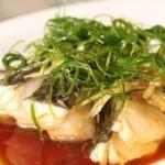 油浸鱼(荤菜菜谱-葱丝切法)