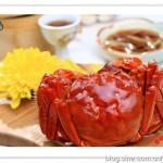 花雕蒸醉蟹(海鲜菜谱)